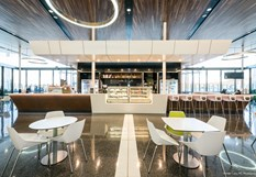 Altitude Bar & Café at Toowoomba Wellcamp Airport [Image: Lucy RC Photography]