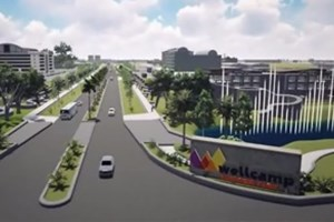 An artists impression of the completed Wellcamp Airport Business Park | www.wellcamp.com.au