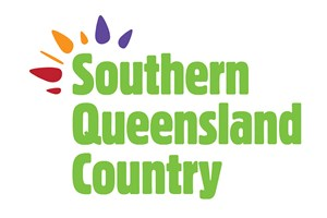 The Southern Queensland Country logo shows their support for the growth of air services for our community, From Toowoomba to the World | www.wellcamp.com.au