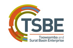The Toowoomba and Surat Basin Enterprise logo shows their support for the growth of air services for our community, from Toowoomba to the World | www.wellcamp.com.au