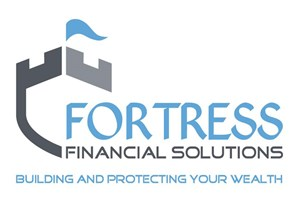 The Fortress Financial Solutions logo shows their support for the growth of air services for our community, from Toowoomba to the World | www.wellcamp.com.au