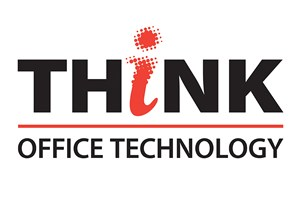 The Think Office Technology logo shows their support for the growth of air services for our community, from Toowoomba to the World | www.wellcamp.com.au