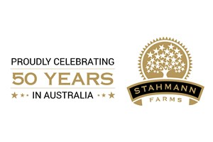 The Stahmann Farms logo shows their support for the growth of air services for our community, from Toowoomba to the World | www.wellcamp.com.au