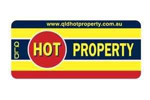The QLD Hot Property logo shows their support for the growth of air services for our community, from Toowoomba to the World | www.wellcamp.com.au