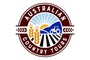 The Australian Country Tours logo shows their support for the growth of air services for our community, from Toowoomba to the World | www.wellcamp.com.au