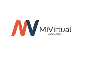 The MiVirtual logo shows their support for the growth of air services for our community, from Toowoomba to the World | www.wellcamp.com.au