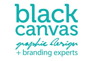 The Black Canvas logo shows their support for the growth of air services for our community, from Toowoomba to the World | www.wellcamp.com.au