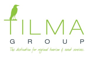 The Tilma Group logo shows their support for the growth of air services for our community, from Toowoomba to the World | www.wellcamp.com.au