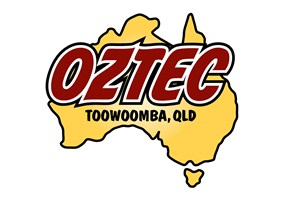 The Oztec Toowoomba logo shows their support for the growth of air services for our community, from Toowoomba to the World | www.wellcamp.com.au