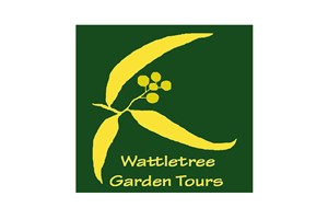 The Wattletree Garden Tours logo shows their support for the growth of air services for our community, from Toowoomba to the World | www.wellcamp.com.au