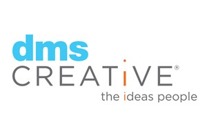 The dms CREATIVE logo shows their support for the growth of air services for our community, from Toowoomba to the World | www.wellcamp.com.au