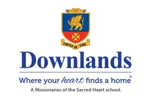The Downlands College logo shows their support for the growth of air services for our community, from Toowoomba to the World | www.wellcamp.com.au