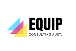The Equip Consulting Aust logo shows their support for the growth of air services for our community, from Toowoomba to the World | www.wellcamp.com.au