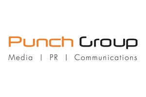 The Punch Group logo shows their support for the growth of air services for our community, from Toowoomba to the World | www.wellcamp.com.au