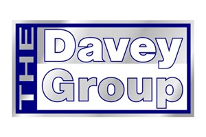 The The Davey Group logo shows their support for the growth of air services for our community, from Toowoomba to the World | www.wellcamp.com.au