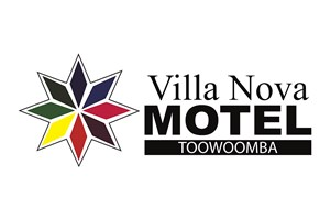 The Villa Nova logo shows their support for the growth of air services for our community, from Toowoomba to the World | www.wellcamp.com.au