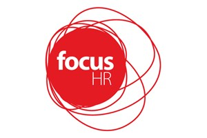 The Focus HR logo shows their support for the growth of air services for our community, from Toowoomba to the World | www.wellcamp.com.au