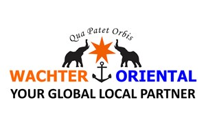 The Wachter Oriental logo shows their support for the growth of air services for our community, from Toowoomba to the World | www.wellcamp.com.au
