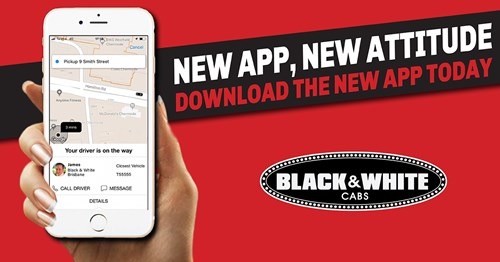 Black & White Cabs App | Book your taxi for Toowoomba Wellcamp Airport